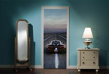 Door Mural Mclaren P1 View Wall Stickers Decal Wallpaper 200