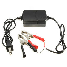 12V/1.2A Portable Motorcycle Battery Charger Maintainer Multi-mode Black