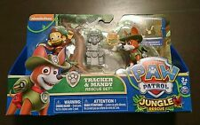 Nickelodeon Paw Patrol Tracker & Mandy Rescue Set New in Package Spin Master