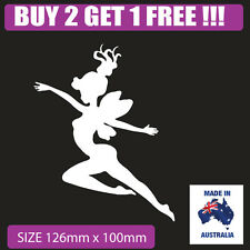 Fairy sticker for car , laptop , window , fridge popular  tinkerbell type003