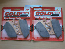 HARLEY XL883 R 100th ANNIVERSARY EDITION # GOLDFREN FRONT BRAKE PADS *SINTERED*