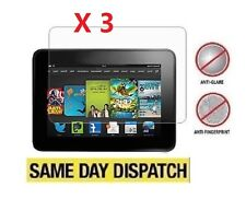 3 X NEW Amazon Kindle Fire HD 7 2013 2nd Anti-Glare Matte Screen Protector Cloth