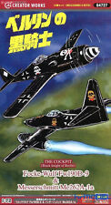 Hasegawa 1/72 64727 The Cockpit (Black knight of Berlin) Focke Model Kit FCX250