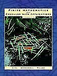 Finite Mathematics and Calculus with Applications (5th Edition), Greenwell, Raym