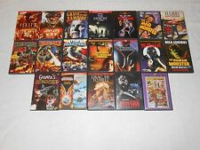 19 DVD LOT OF HORROR  MOVIES