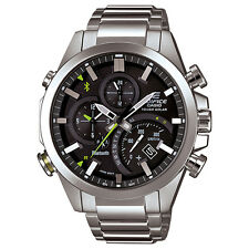 Casio Edifice EQB500D-1A Stainless Steel Bluetooth Mobile Link Men's Watch