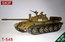 T-54 B MBT (SOVIET, POLISH, CZECHOSLOVAK & GERMAN MKGS) 1/35 SKIF RARE