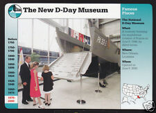 THE NEW D-DAY MUSEUM New Orleans Don Hines 2001 GROLIER STORY OF AMERICA CARD