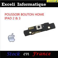 Nappe Flex Module Support POUSSOIR BOUTON HOME  - IPAD 2 & 3 wifi 3G iPad2 iPad3