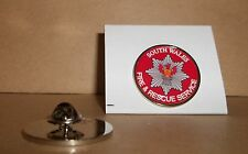 South Wales Fire and Rescue Service Lapel pin badge