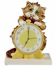 Linda Jane Smith Comic Curious Cats Morning Call Figurine A22916 RRP£29.95