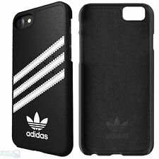 Adidas Apple iPhone 7 back cover funda rígida, funda, móvil funda protectora bolso negro blanco