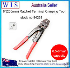 0.5-6mm²Ratchet Crimper Plier Cable Wire Electrical Terminals Crimping Tool84233