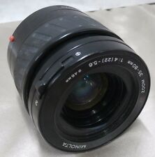 Minolta AF ZOOM 35-80mm for Minolta AF/Sony Alpha 1:4(22)-5.6 FREE SHIP!!