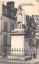 BF4117 Chateau Thierry statle jean de la fontaine france