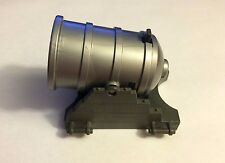 silver Playmobil cannon with grey base -pirate ship or castle
