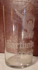 Bartholomay Rochester (NY) Beer and Ale Pre-Prohibition Beer Glass