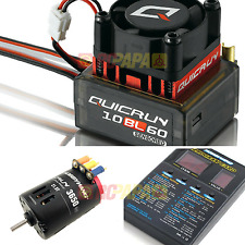 Hobbywing quicrun Brushless Motor 300w CES Combo 10bl60 60a 21,5 T 3650 Rc