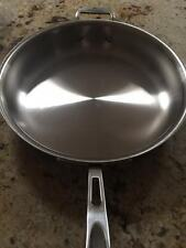 All-Clad Stainless Steel LTD2 d5 3 qt saute pan VERY RARE - New & First Quality