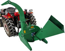 "BRAND NEW 4""x10""  PTO Tractor Wood Chipper Shredder BX42S GREEN 540-1000 RPM"
