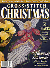 BETTER HOMES & GARDENS CROSS STITCH CHRISTMAS 1995 ~ 35 charts