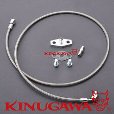 Kinugawa Turbo Oil Feed Line Kit Nissan Safari Patrol 4.2L TD42 Stock HT18 Turbo