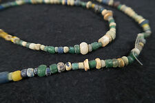 Antike kleine Glasperlen B African Antique Trade wind beads Afrozip