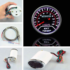 """52mm 2"""" Exhaust Gas Temperature Temp Gauge EGT (2-12) X100C+O2 Sensor VN"""