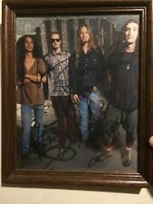 Alice In Chains Layne Staley AIC Full Band Signed Promo Photo Autographed AIC