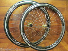RARE FRM TEAM FEATHER 10 SPEED SHIMANO 700 ZIP 303 CARBON CLINCHER WHEELSET TIRE