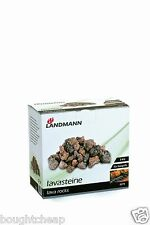 Landmann 0273 3Kg Lava Rock Pack Gas Barbecues Replacement BBQ NEW UK SELLER