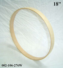 "18"" Maple Bass Drum Hoop / Ring / Rim (Rounded Front) Unfinished 002-106-276W"