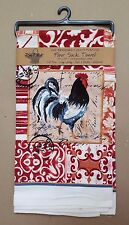Red Rooster Old-Fashioned Flour Sack Kitchen Towel Mother's Day Geoff Allen Kay