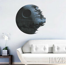 Death Star Wars Removable Wall Stickers Kids Room Decal Home Decor Mural Art NN