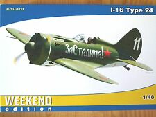 Eduard Weekend edition 1:48 I-16 Tipo 24 AIRCRAFT MODEL KIT