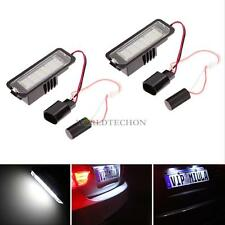 36-LED License Plate Lamp Light Bulb For VW GOLF4/5/6 CC Phaeton Porsche 987 997