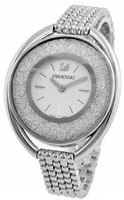 Swarovski Crystalline Oval White 1700 Crystals Bracelet Watch 5181008