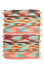 Capelli Nordstrom Multi Colored Navajo Tassel Scarf NWT