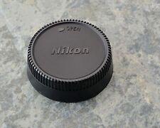 Excellent Genuine Nikon NIKKOR LF-1 Rear Lens Cap F Mount AF-S AF Ai-S (#1410)