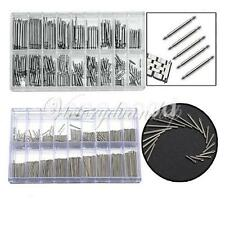 360Pcs Watch Band Strap Link Pins Spring Bars & Stainless Split Cotter Kit Tools