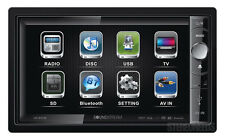 "SOUNDSTREAM VR-650B IN-DASH 2 DIN CAR BLUETOOTH DVD/CD/MP3 PLAYER 6.5"" MONITOR"