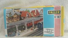 faller ho b-187.  station platform and canopy. parts are sealed in bag