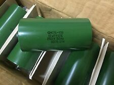 2 x 10uF 250V K75-10V capacitors || NEW & NOS || DIY Tube Audio  || MILITARY