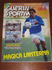 GUERIN SPORTIVO=N°11 1991=SPECIALE COPPE EUROPEE=COVER ROBERTO MANCINI