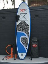 Inflatable Stand Up Surfboard SUP 10' with Paddle and Pump Skyblue