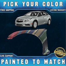 NEW Painted To Match - Drivers Front Left LH Fender for 2011-2016 Chevy Cruze