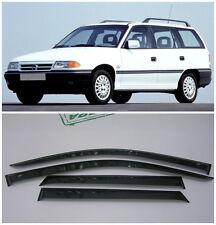 For Opel Astra F Caravan 1991-1998 Window Visors Sun Rain Guard Vent Deflectors