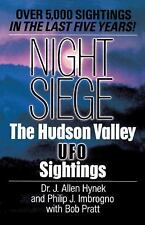 Night Siege: The Hudson Valley UFO Sightings-ExLibrary