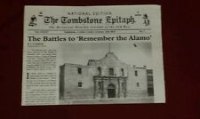 The Tombstone Epitaph 20 page National edition 7 collectible newspaper New Promo