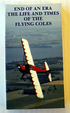 End of an Era ~ The Life and Times of the Flying Coles ~ Rare VHS Movie Video
